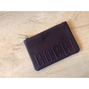 BOBBI BROWN makeup cosmetic pouch bag travel purse